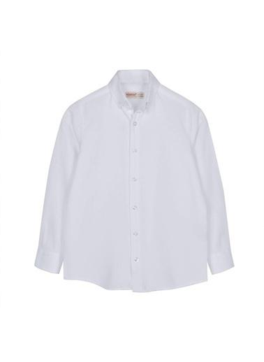 Silversun Kids Uzun Kol Önden Düğmeli Klasik Erkek Çocuk Gömlek Gc 316328 Beyaz